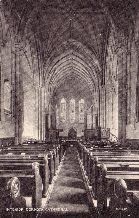 Dornoch Cathedral ~ Interior