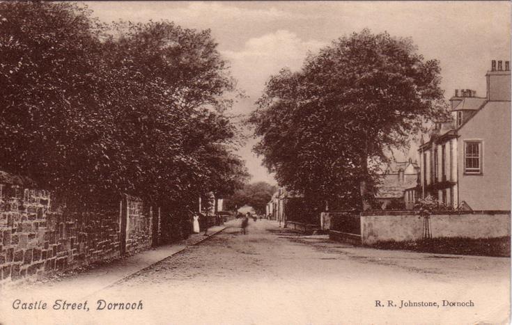 Dornoch ~ Castle Street looking west