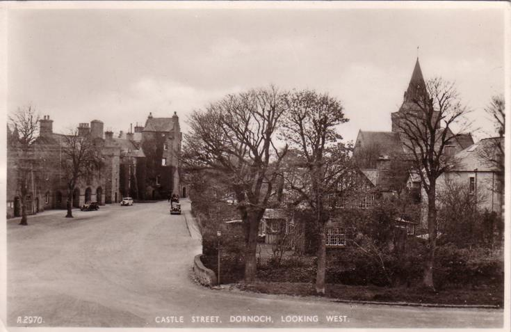 Dornoch ~ Castle Street looking west