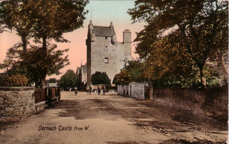 Dornoch Castle from the west