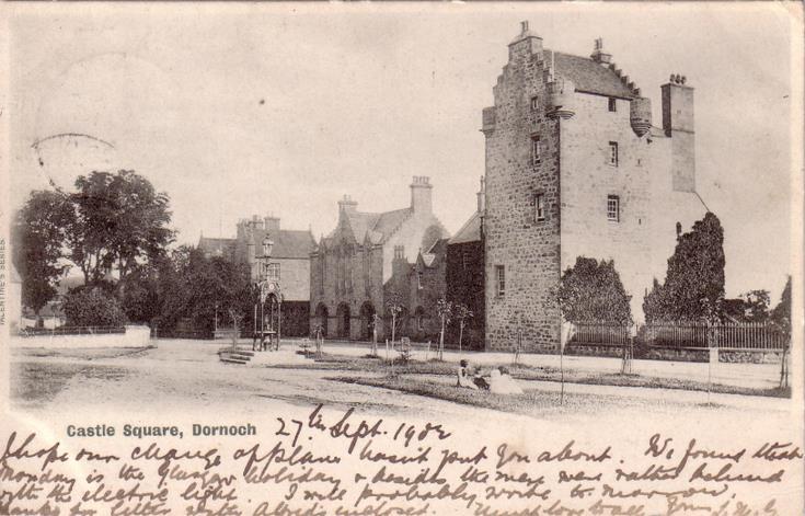Castle Square, Dornoch