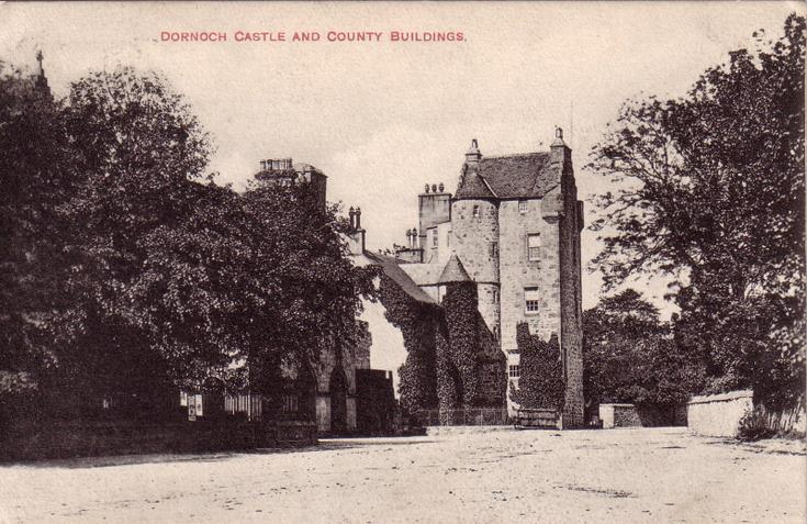 Dornoch Castle and County Buildings