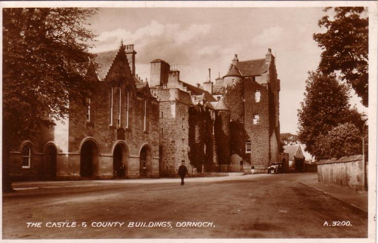The Castle & County Buildings, Dornoch