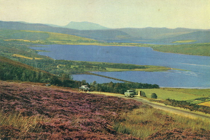 The Kyle of Sutherland and Dornoch Firth from Struie