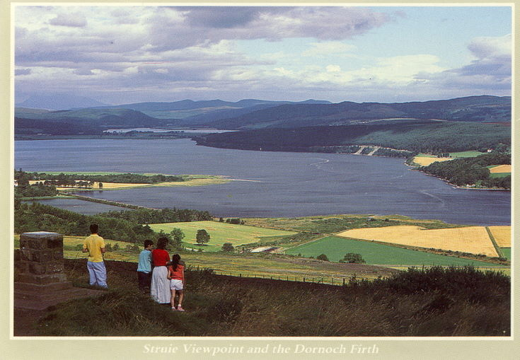 Struie Viewpoint and the Dornoch Firth