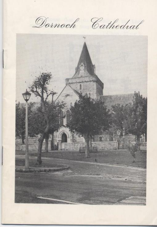 Dornoch Cathedral Guide