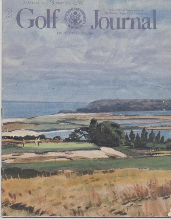 Golf Journal 1981 - Article Royal Dornoch Golf Course