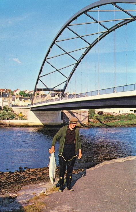 Furness Collection - Fisherman at Bonar Bridge