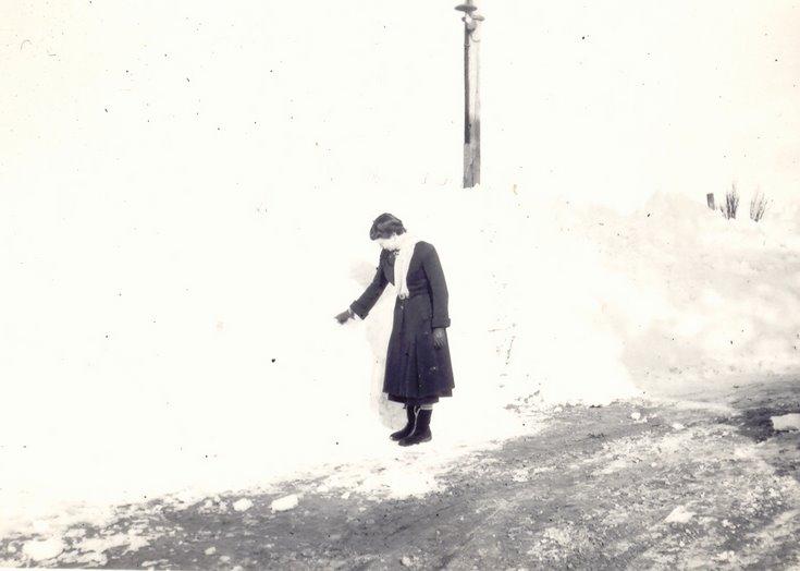 Snow Scenes in Dornoch