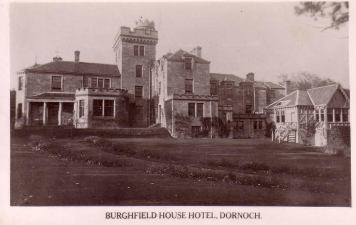 Burghfield House Hotel, Dornoch