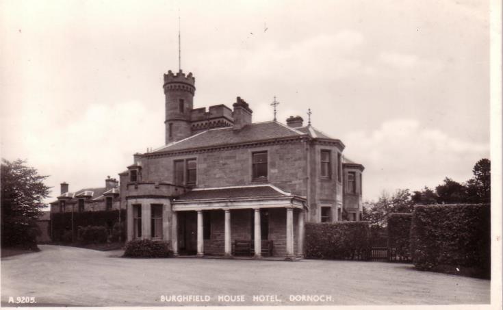 Burghfield House Hotel, Dornoch