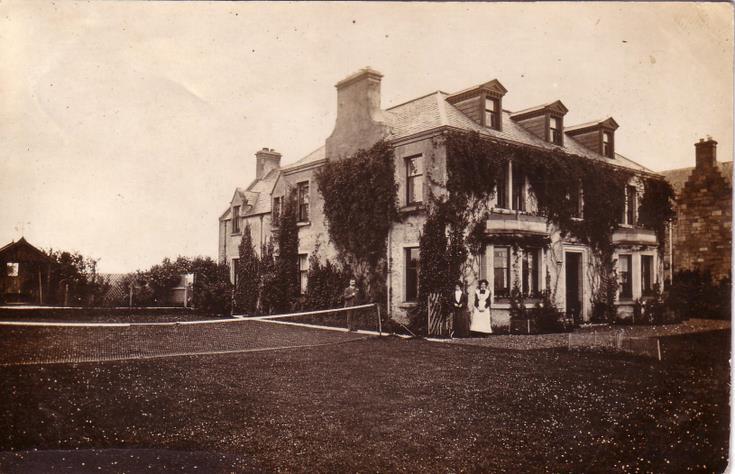 House with tennis court, Dornoch