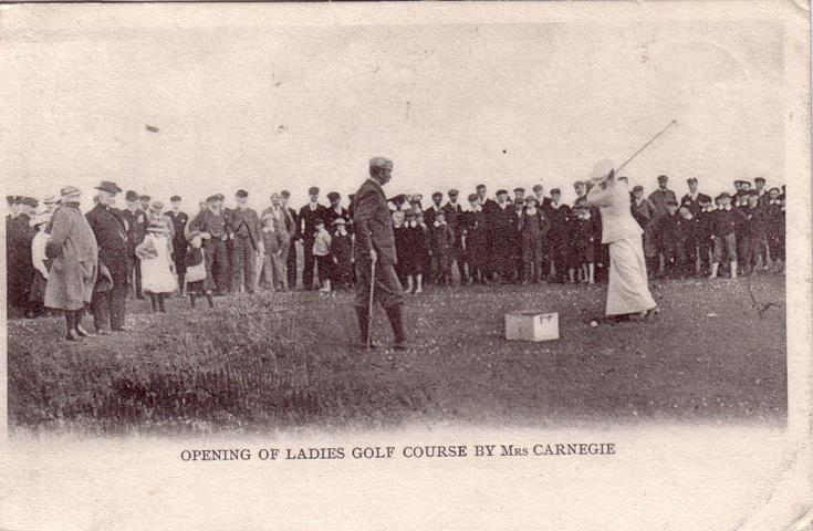 Opening of Ladies Golf Course by Mrs. Carnegie