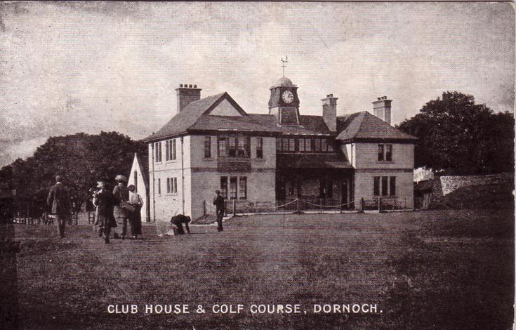 Club House and Golf Course, Dornoch