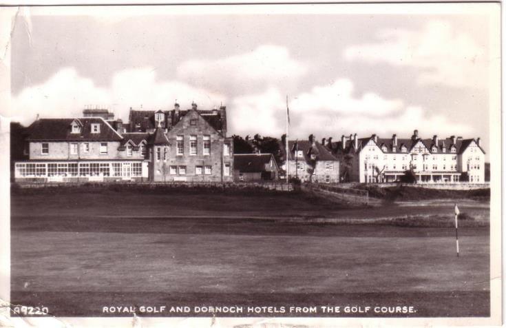 Royal Golf Hotel, and Dornoch Hotel