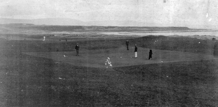 Seventeenth Green Dornoch Golf Course c 1895