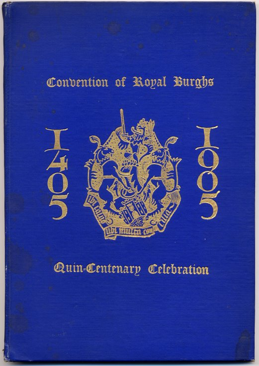 Convention of Royal Burghs Quincentenary Celebration