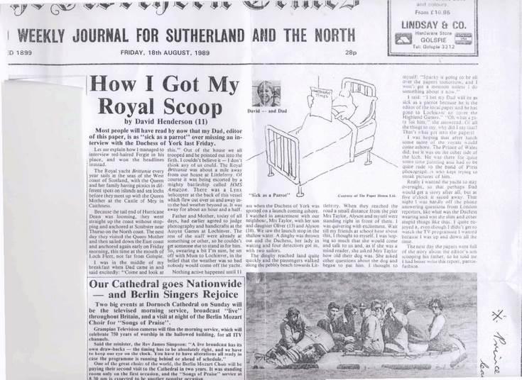 How I got my Royal Scoop
