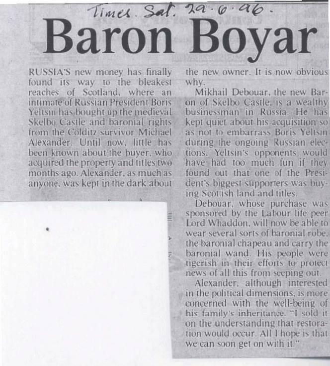 Baron Boyar