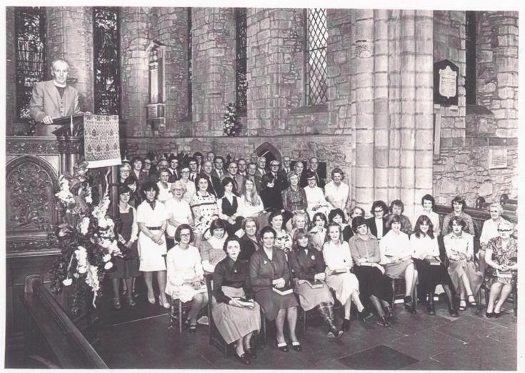Television Recording in Dornoch Cathedral 1978