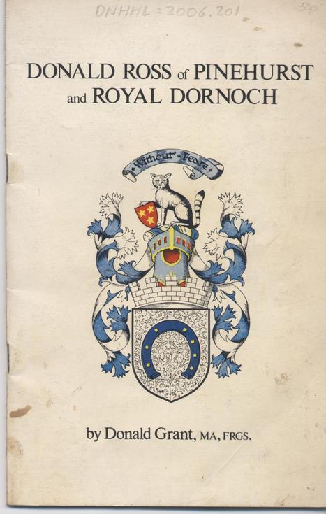 Donald Ross of Pinehurst and Dornoch