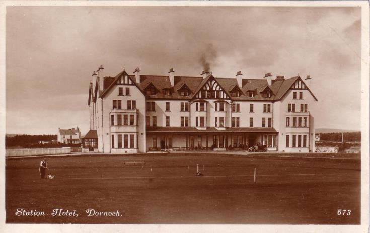 Station Hotel, Dornoch