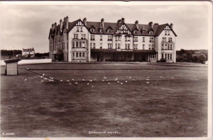 Dornoch Hotel, Dornoch c 1946
