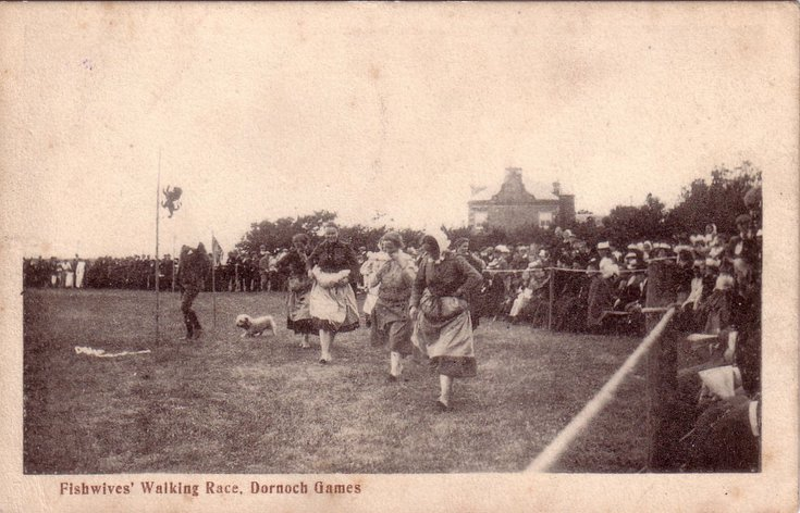 Fishwives' Walking Race, Dornoch Games
