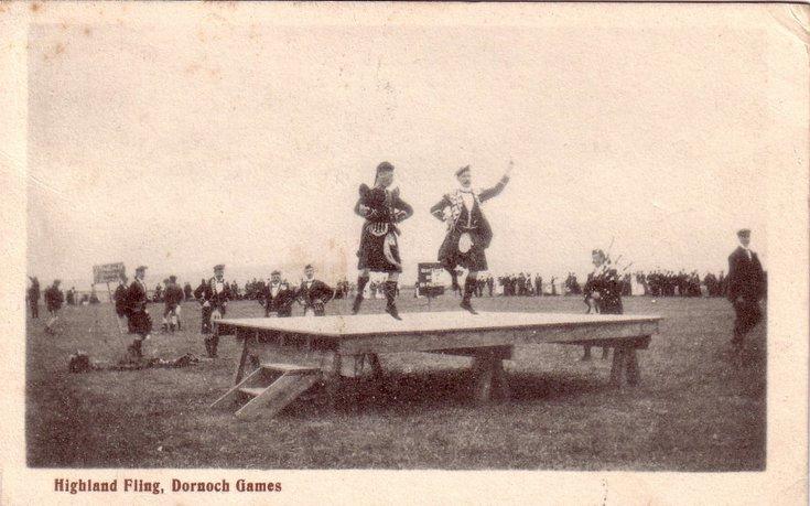Highland Fling, Dornoch Games