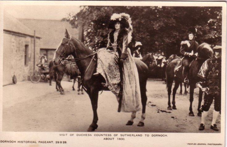 Dornoch Historical Pageant