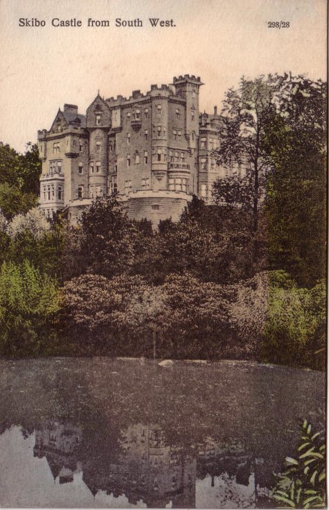 Skibo Castle from the south west