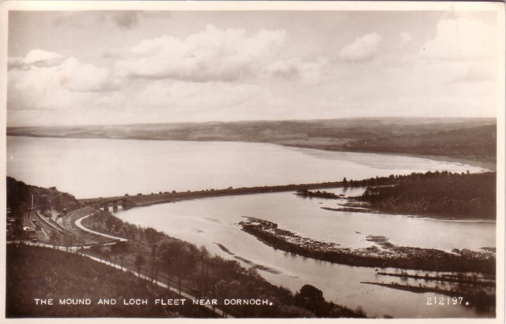 The Mound & Loch Fleet