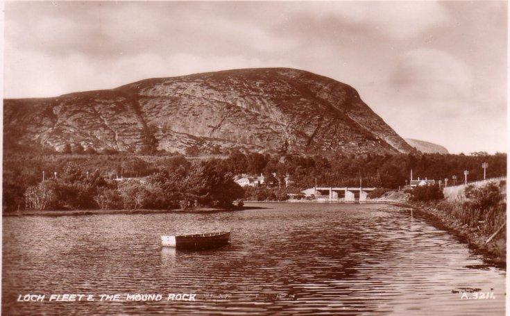 Loch Fleet & The Mound Rock
