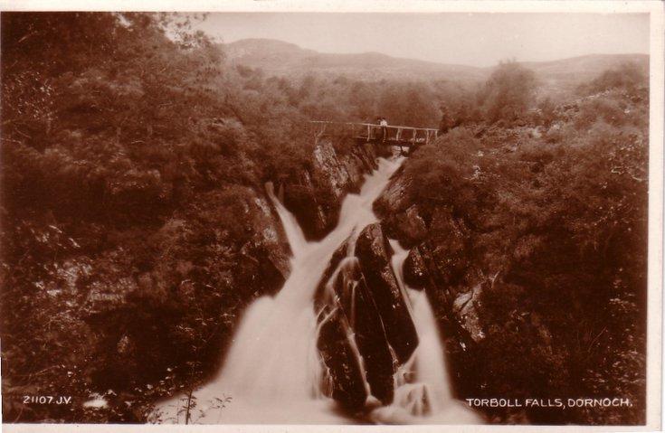 Torboll Falls, Dornoch
