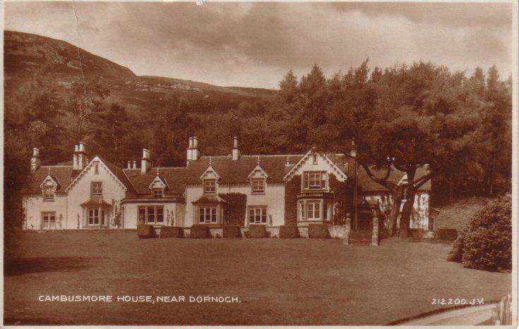Cambusmore House, near Dornoch