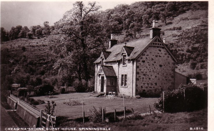 Spinningdale ~ Creag na Sroine Guest House