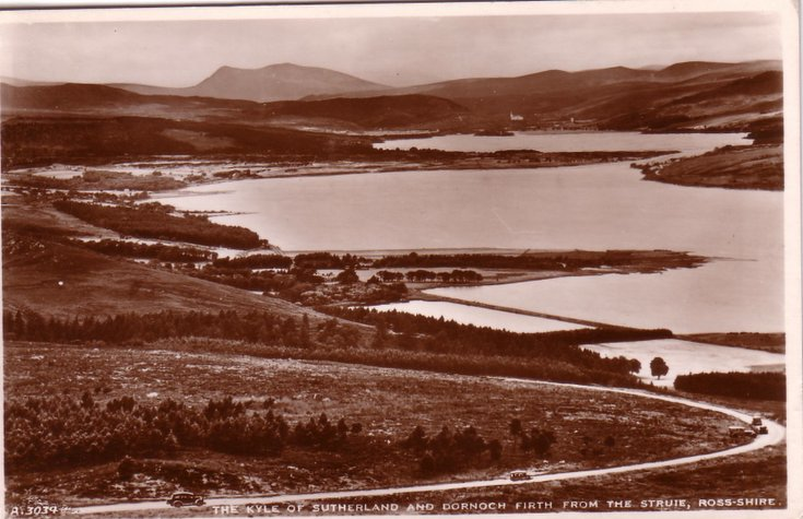 Dornoch Firth, and the Kyle of Sutherland