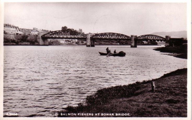 Salmon Fishers at Bonar Bridge