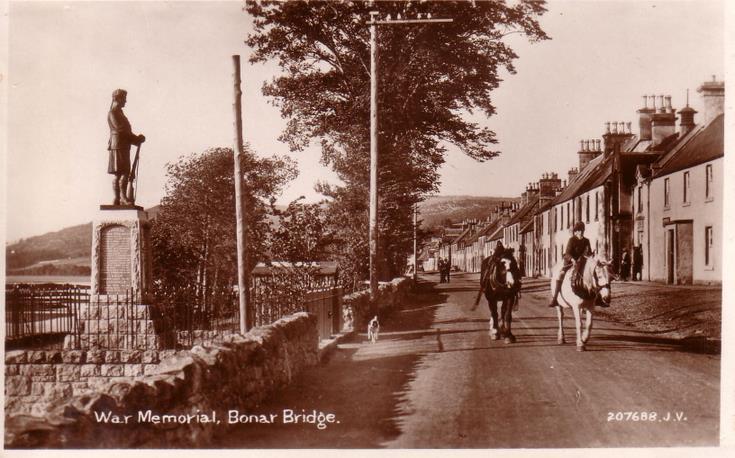 The War Memorial, Bonar Bridge