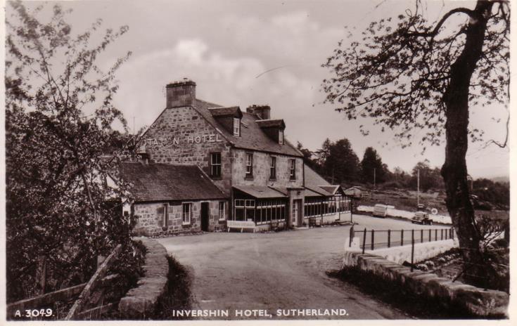 Invershin Hotel, Sutherland