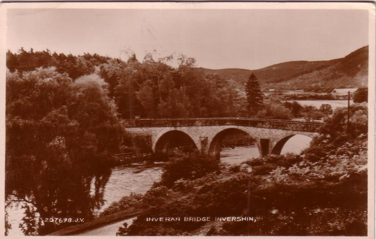 Inveran Bridge, Invershin