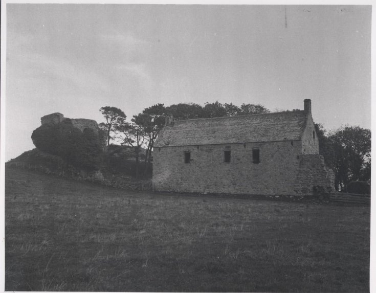 Skelbo Castle and House 1970
