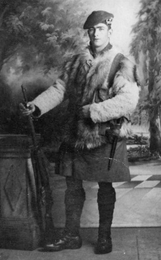 Kenneth Mackay 5th Battalion Seaforth Highlanders