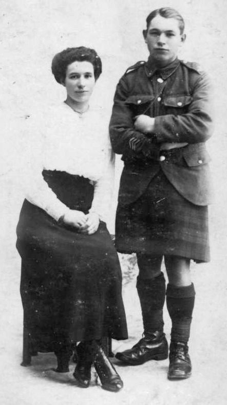 Annie Mackay and John Mackay 1919