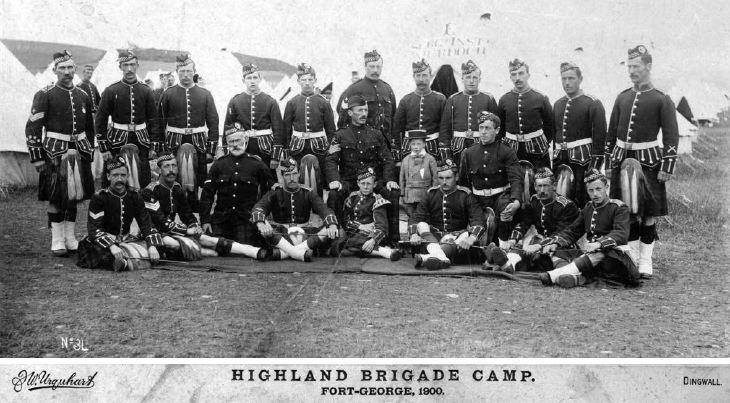Highland Brigade Camp Fort George 1900