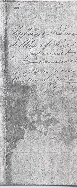 Missive of lease Skibo 1857