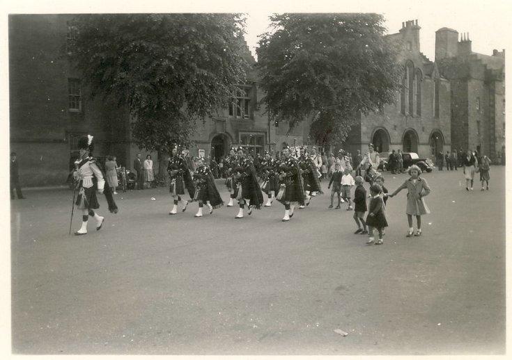 Dornoch Pipe Band 1951