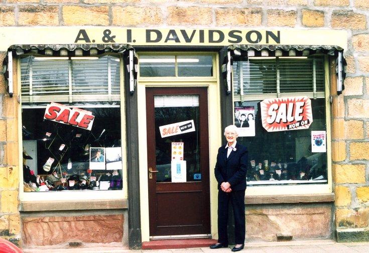 A. & I. Davidson ~ Shoe Shop, Castle Street