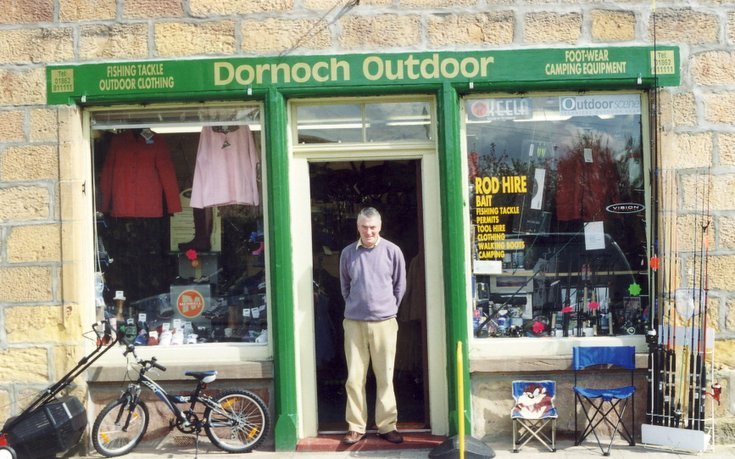 Dornoch Outdoor Shop, Castle Street