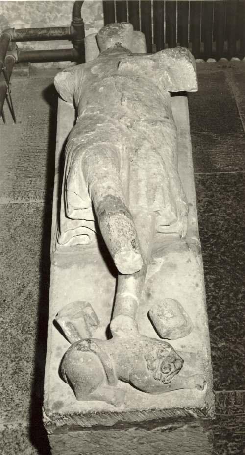 Dornoch Cathedral ~ Richard de Moravia tomb